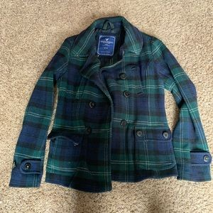 American Eagle wool pea coat